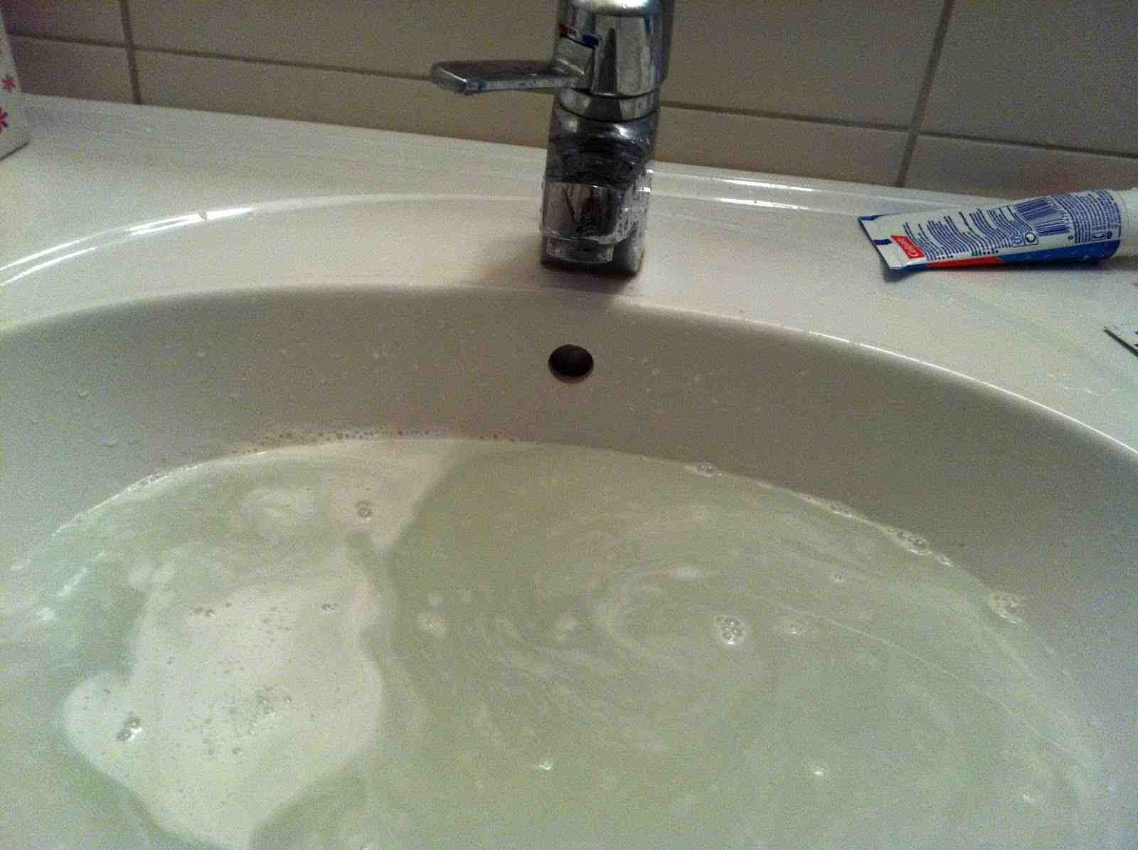 Photos Of Clogged Drain