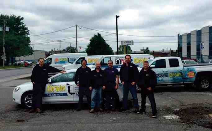 Monsieur Drain's associates will take care of all your plumbing needs