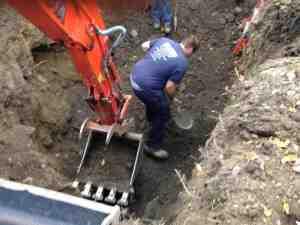 excavation drain