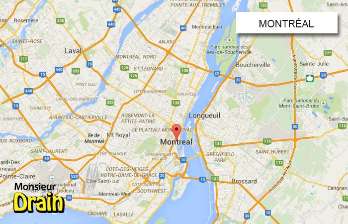 Nettoyage d' Égout Montréal